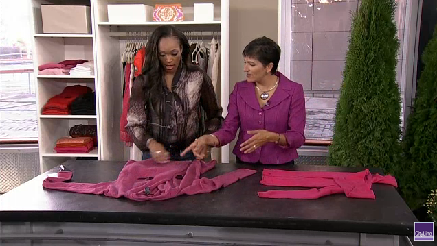 Sharing folding techniques with CityLine's Tracy Moore