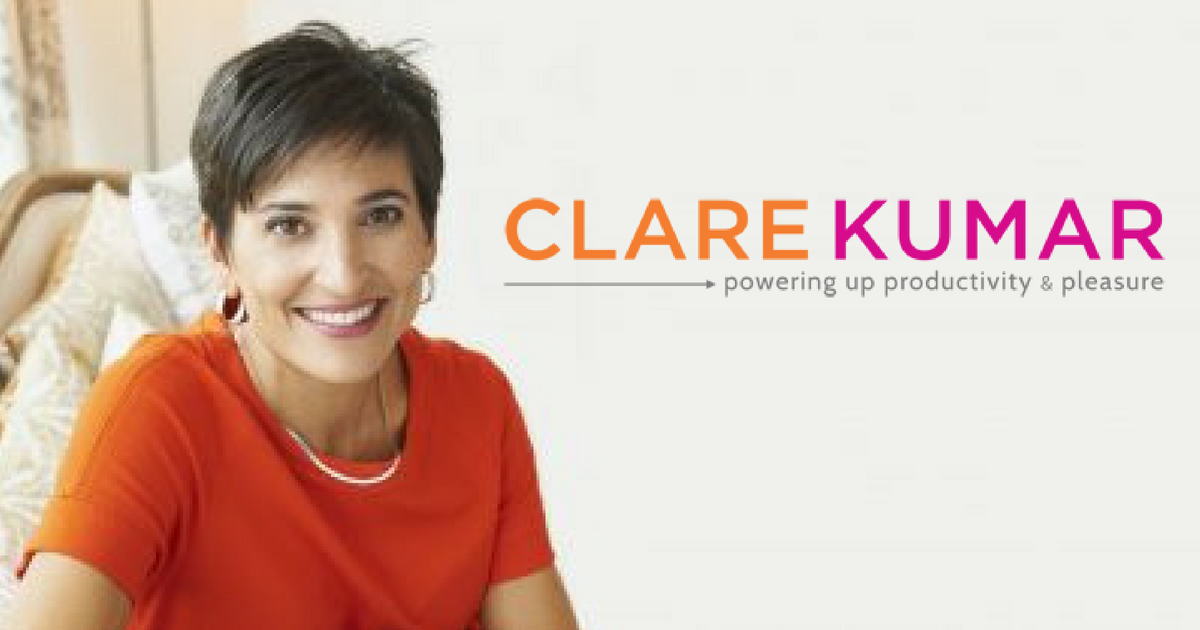 clare kumar, speaker, productivity