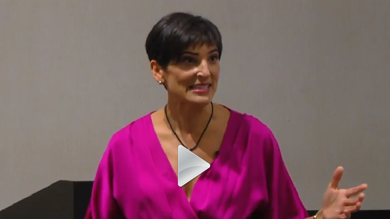 Clare Kumar speaking
