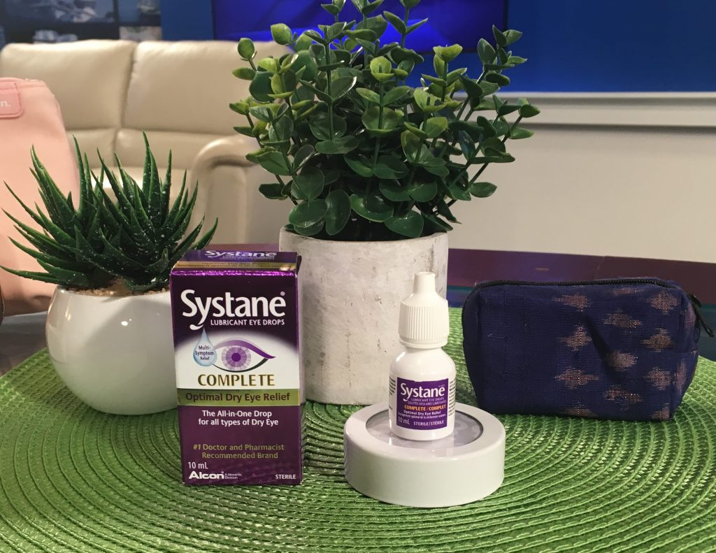 Systane Complete eye drop bottle and box