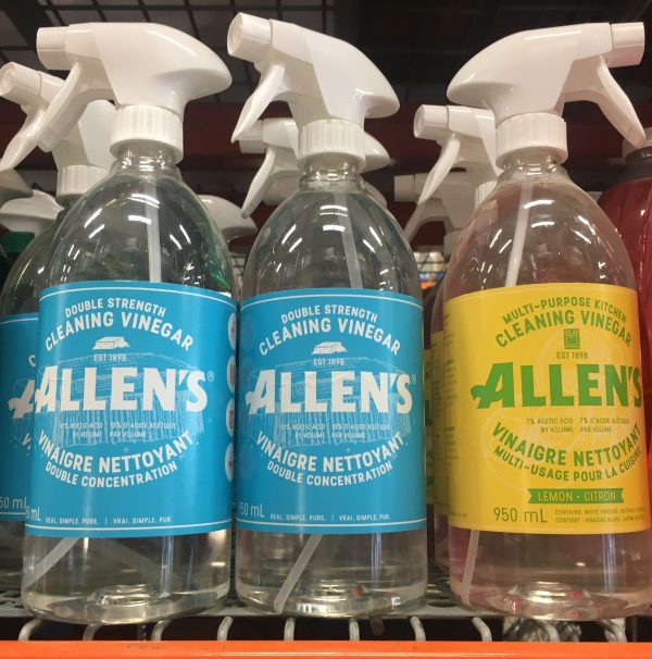 allen's double strength cleaning vinegar