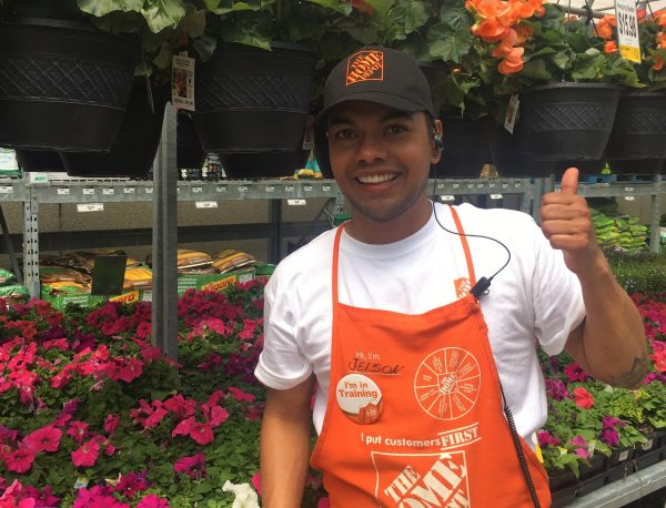 Home Depot Customer Service Rep