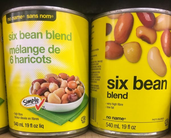 New and old package designs to show design changes including coloured titles and the simple check symbol